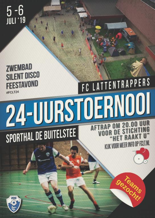 Poster 24-uurstoernooi 2019
