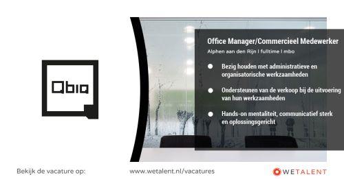Office Manager/Commercieel Medewerker afbeelding