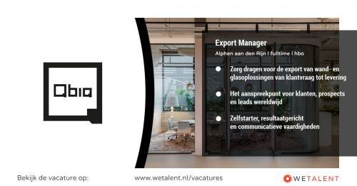 Export Manager afbeelding