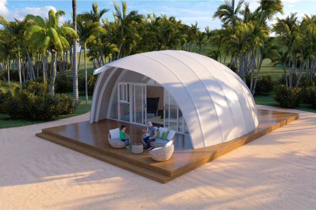 Weer twee nieuwe tentvormen voor camping De Lakens