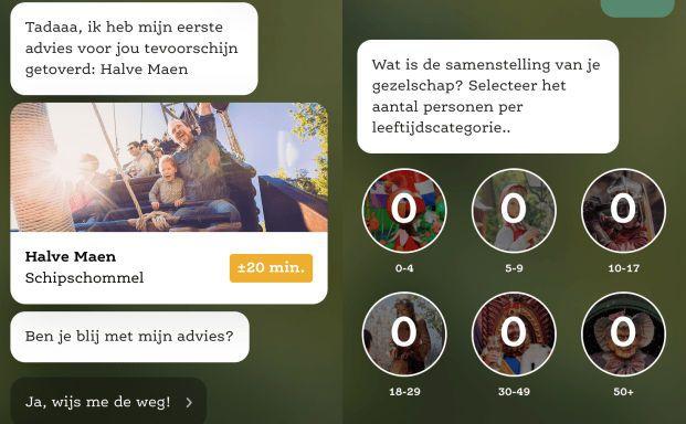 Efteling ontwikkelt app voor persoonlijk advies aan bezoekers