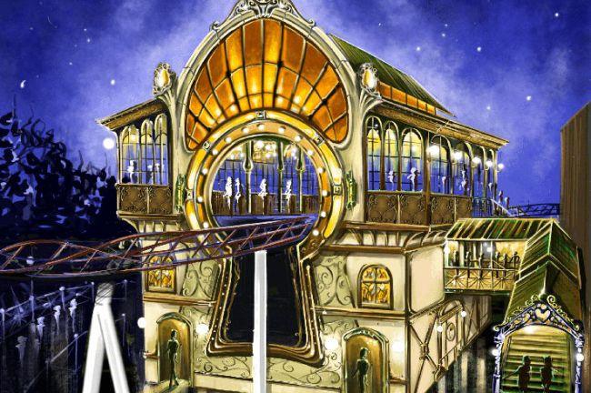 Nieuwe spinning coaster Plopsaland in samenwerking met Tomorrowland