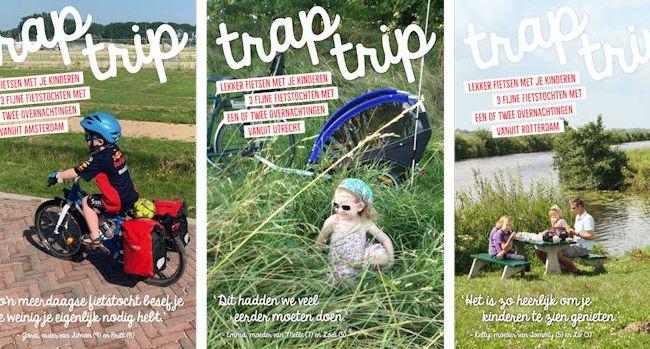 Nieuwe traptrip meerdaagse fietsroutes voor groeiende doelgroep