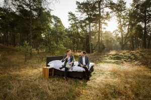 Thomas Heerkens (Landal Greenparks) en Aart Roos (Auping), by Maarten Huisman @ Studio Nelson.