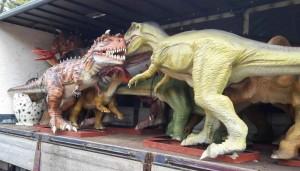 Dinoland moet in februari 2016 de deuren openen.