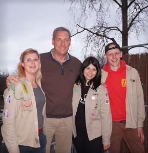 Gert Verhulst en de scouts