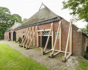 Gestutte boerderij in Huizinge (Bron: beeldbank RCE)