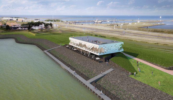 Impressie Beleefcentrum De Nieuwe Afsluitdijk