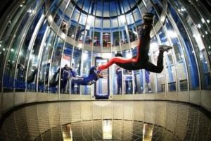 foto: indoor Skydive Roosendaal