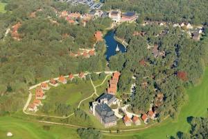 luchtfoto van Efteling Bosrijk