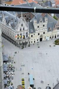 Uitzicht vanuit de St. Romboutstoren (97m)