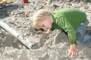NB zand in tekst