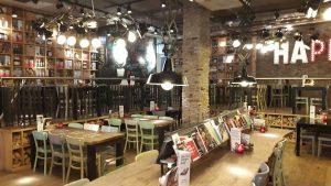 Ook restaurants nemen hun bezoekers mee in een bepaalde sfeer.