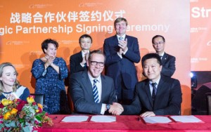 Tekenen overeenkomst Alibaba