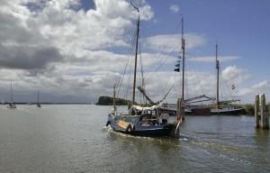 Zicht op het Lauwersmeer (foto: Rijksdienst Cultureel Erfgoed)