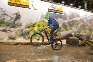 de avontuurlijke mountainbiker