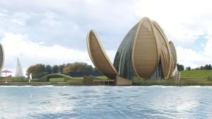 een ontwerp van Achterbosch Zantman Architecten. (bron: De Blauwe Stad)