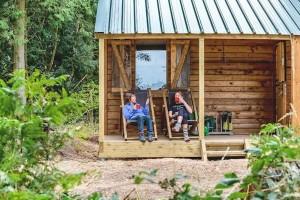 boerenbed log cabin