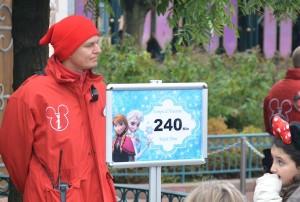Dit soort situaties wil Disneyland Parijs in de toekomst voorkomen
