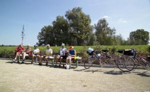 fietsers in Belgisch Limurg