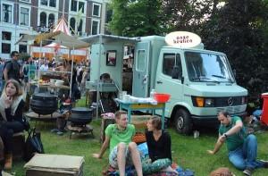 opkomst van foodtruck festivals - cirkel naar hippietijd weer rond?