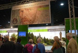 De stand van Gelderse Streken spelde in 2015 in op het Van Gogh jaar