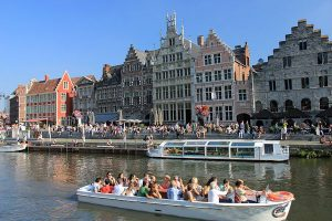 De Graslei in Gent (foto: Toerisme Vlaanderen)