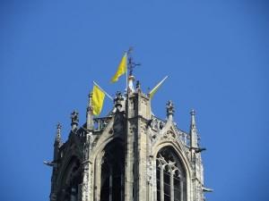 Utrecht kleurt geel (De Domtoren)