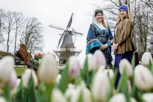 Vanaf donderdag 24 maart tot en met maandag 16 mei is De Keukenhof weer geopend met als thema 'De Gouden Eeuw'.