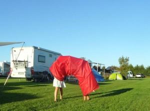 kleine genietmomenten op de camping