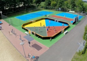 sportcourt na renovatie