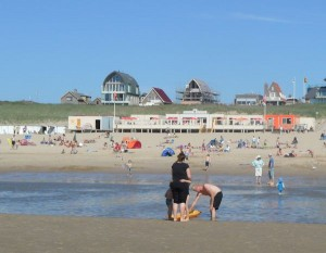 strand bij Egmond