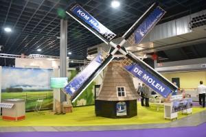 Eyecatcher in Nederlands paviljoen op de Vakantiebeurs
