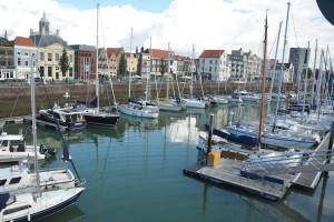 de jachthaven van Vlissingen (Zeeland)