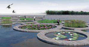 een van de genomineerden: Watertuinen Aalsmeer