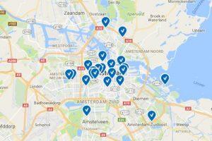 net als airbnb heeft ook WIMDU een sterke concentratie van aanbod in Amsterdam