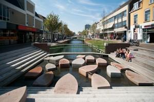 spelen met een bootjesthema in Zaandam