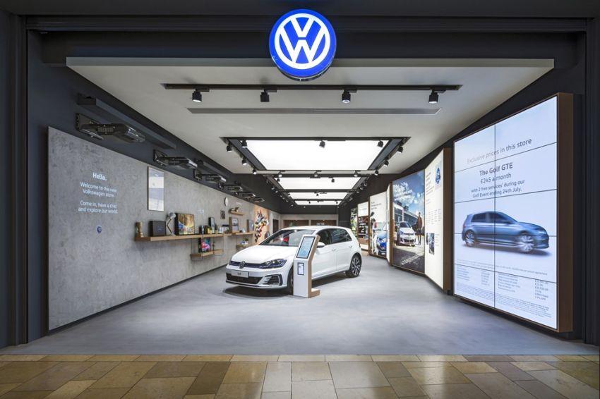 Dit is de eerste Britse winkel van Volkswagen