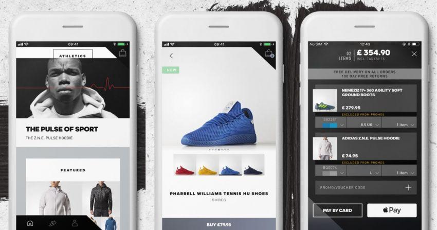 d1549b1b768 Appdate: De eerste (slimme) winkelapp van Adidas - RetailTrends.nl
