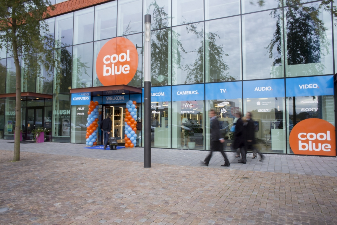 Coolblue opent  u0026#39;paradepaardje u0026#39; in New Babylon   RetailNews nl