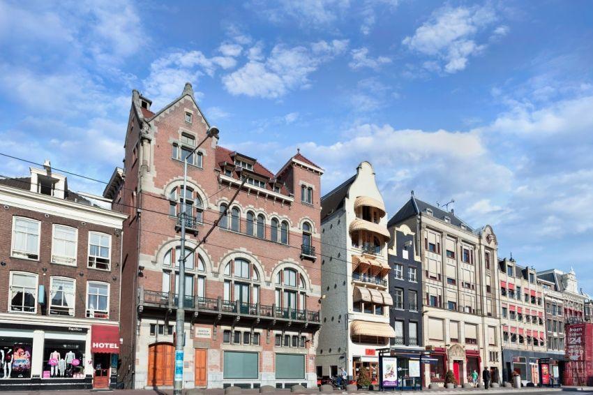 Amsterdams leesmuseum wordt winkelpand for B b amsterdam