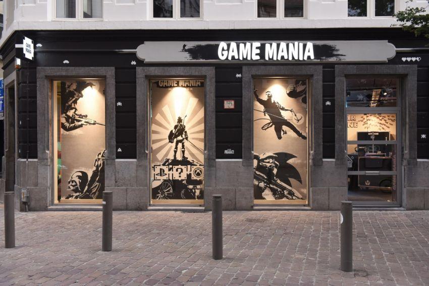 game mania introduceert nieuw flagshipstoreconcept. Black Bedroom Furniture Sets. Home Design Ideas