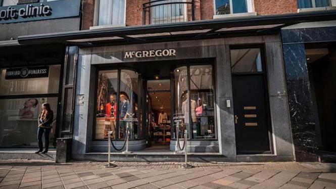 Geen doorstart kledingwinkels McGregor