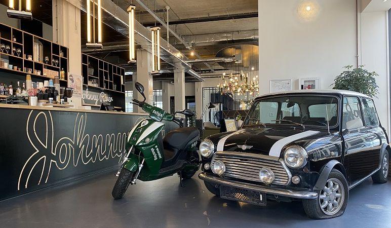 Felyx huurt kantoorruimte in Amsterdams boetiekkantoor Johnny River