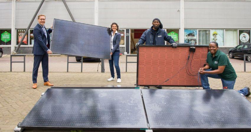 Rotterdam: subsidie  voor 4.500 zonnepanelen