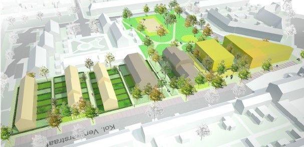 Herontwikkeling voor multifunctioneel centrum en woningen in Naarden