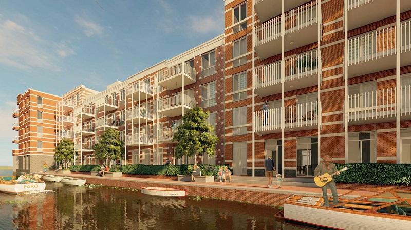 De Key breidt aantal starterswoningen in de Houthaven uit