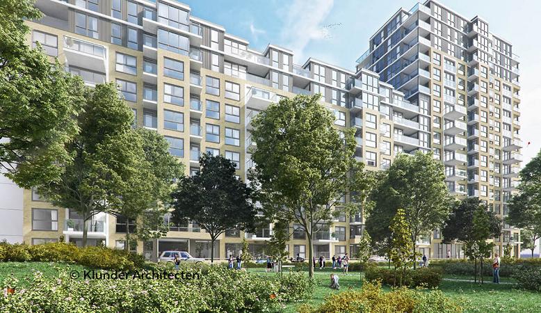 Oplevering van 133 vrije sector appartementen in nieuw Haagsch Kwartier