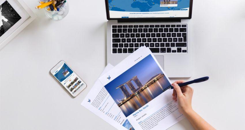 Startup deelt internationale kennis en expertise van bouwprojecten