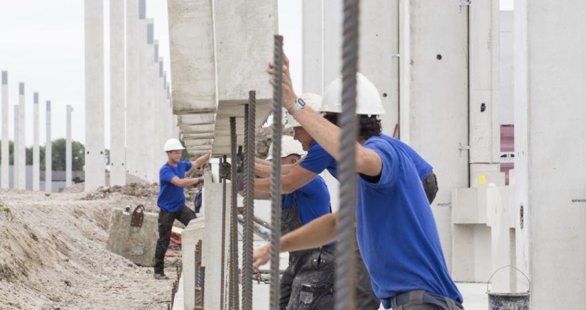 Van Berlo, experts in het verzorgen van de volledige betonnen onderbouwconstructie